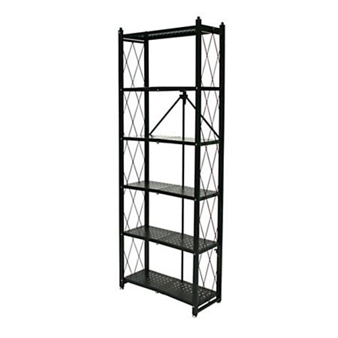 Origami 3 Tier Folding Storage Shelves - origami 6 tier book shelf 74 1316 h x 16 1516 w x 4 34 d