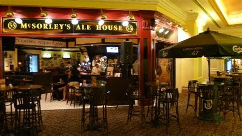 Ale House by Menu Picture Of Mcsorley S Ale House Venetian Hotel Macau Tripadvisor