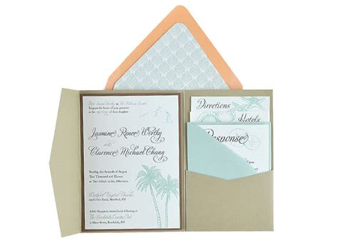 Beachy Free Wedding Invitation 5x7 Template Suite 5x7 Wedding Invitation Template