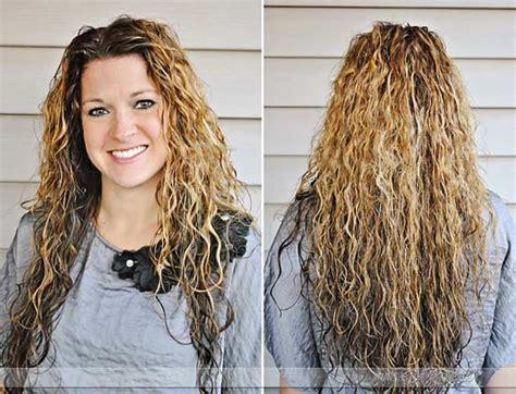 scrunch hir nd perm egg whites bring in curls