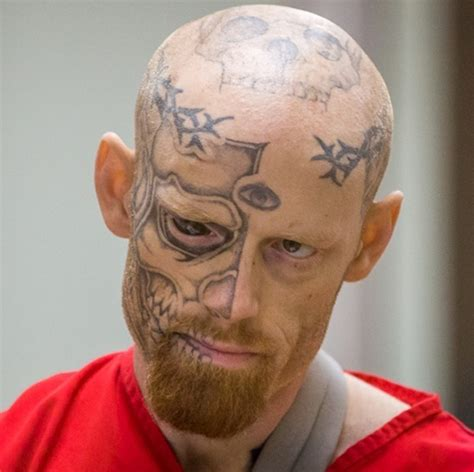 tattoo eyeball prison 40 crazy face tattoos that definitely wont get you a job