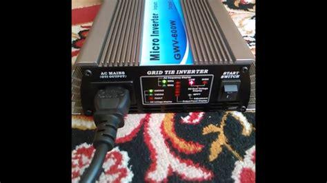 Inverter 600 Watt grid tie inverter 600 watt