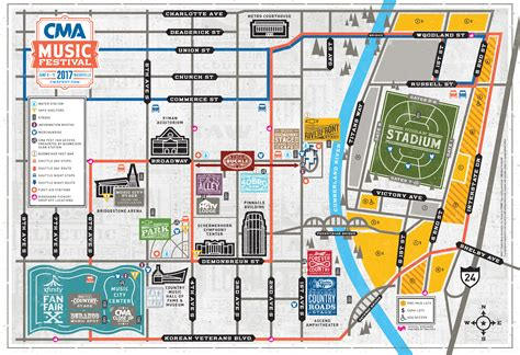 downtown nashville map map nashville restaurants afputra