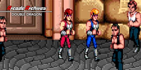 arcade archives double dragon nintendo switch