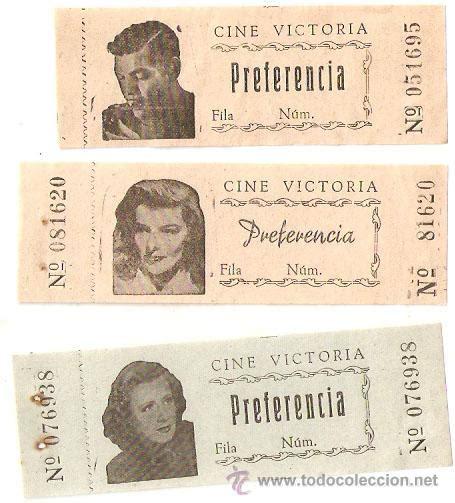 comprar entradas cine barcelona 3 entradas antiguas del cine victoria de barcel comprar