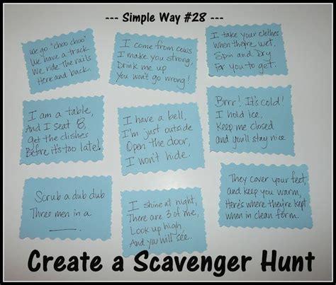 secret clue ideas 1000 ideas about scavenger hunt clues on