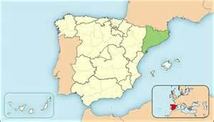 katalonien geographie und landkarte