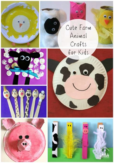 farm crafts for fantastic farm animal arts and crafts crafty at home
