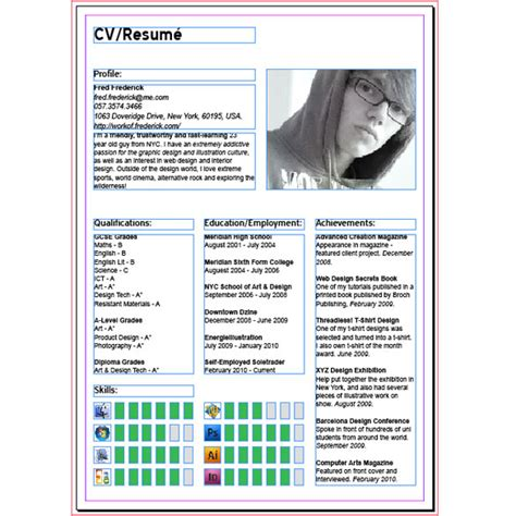 html tutorial resume making a resume in indesign