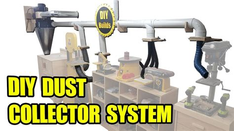 diy dust collector system  homemade blast gates