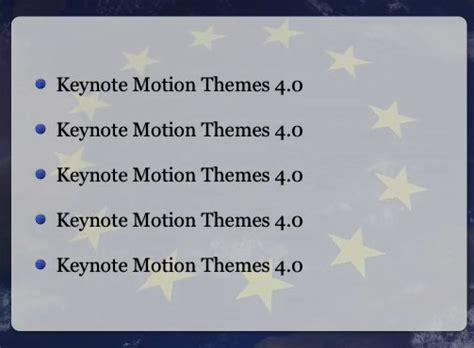 nouveaux themes keynote des drapeaux flottant au vent dans keynote macgeneration