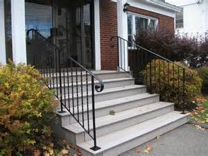 Wrought Iron Handrails For Exterior Stairs Wrought Iron Stair Railings Exterior Staircase