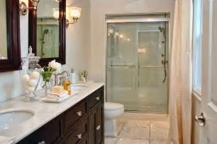 Bathroom Hardware Sets Brushed Nickel Espresso Double Vanity Traditional Bathroom Lux Decor