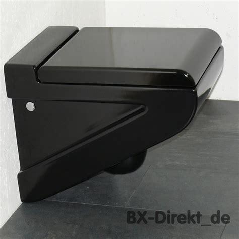 schwarzes wc schwarzes keramik h 228 nge wc toilette schwarz klosett klo wc