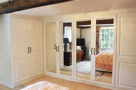 Hinged Mirrored Wardrobe Doors by Create The Look With Hinged Wardrobe Doors