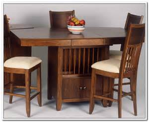 Dining Tables With Storage Dining Table With Storage Base Home Design Ideas
