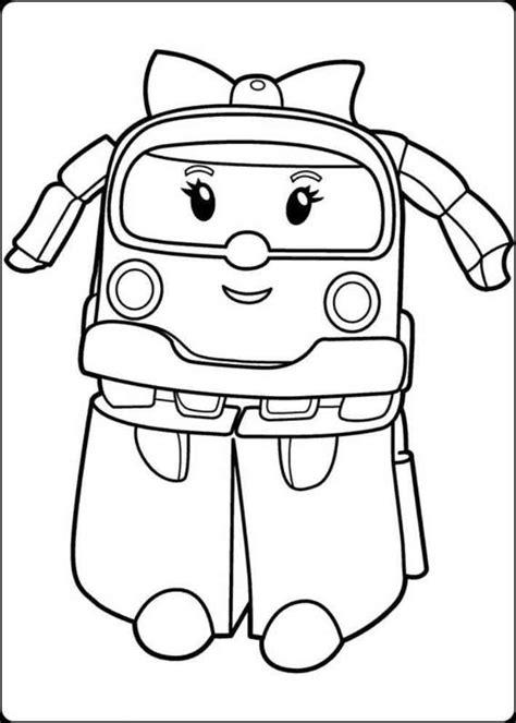 film kartun poli mewarnai gambar robocar poli mewarnai gambar