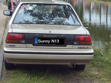 nissan sunny 1990 interior sunnysedann13 1990 nissan sunny specs photos