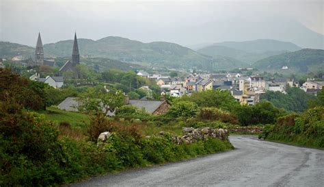 Painted Wall Murals Nature rambling traveler clifden in county galway ireland