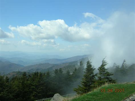mount mitchell north carolina burnsville nc atop mount mitchell looking west from