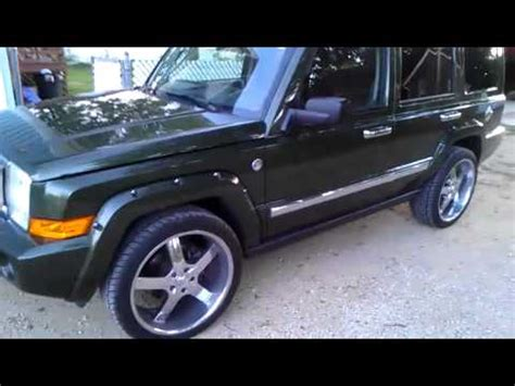 Jeep Commander On 22 2008 Limited Edition Jeep Commander On 22s