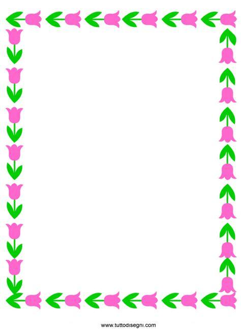 cornici per bigliettini cornicetta con fiori colorati tuttodisegni
