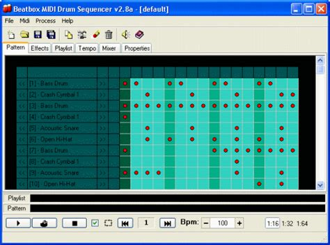drum pattern sequencer download beatbox midi drum sequencer free download for windows 10