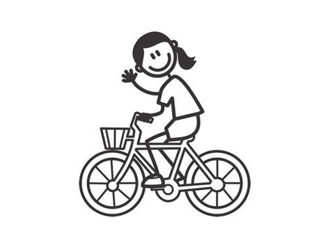Fahrrad Aufkleber Wei by Weitere Accessoires Maedchen Tochter Mit Fahrrad
