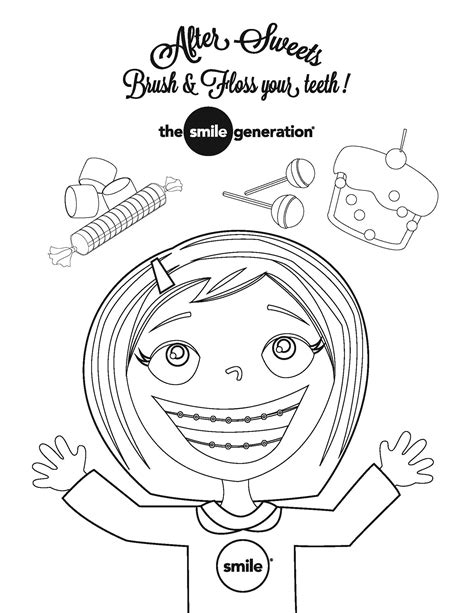 color your smile rock your smile it s national children s dental health