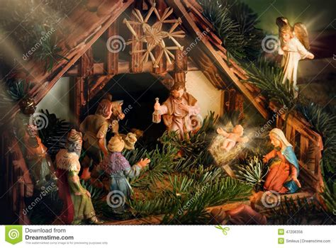 experiencing the nativity within the history the mystery and the practices of birth mystical transformation series volume 3 books nativity enhanced with rays of light stock photo