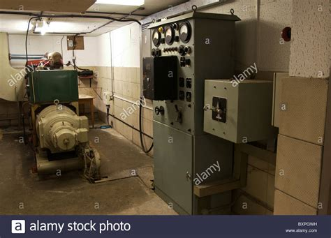 Room Generator by Interior Of Generator Room In Civil Defence Nuclear Bunker