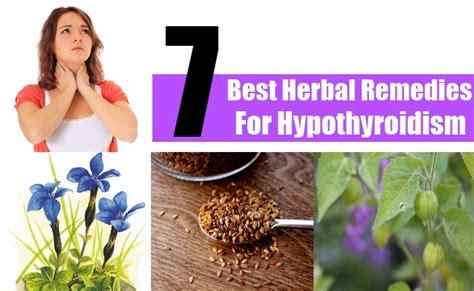 7 supplements for hypothyroidism 7 best herbal remedies for hypothyroidism herbal