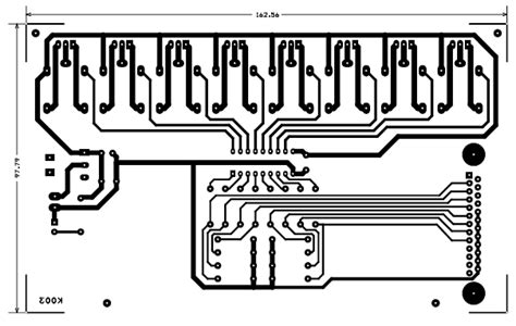 pcb layout guidelines circuit 8 channel lpt relay board