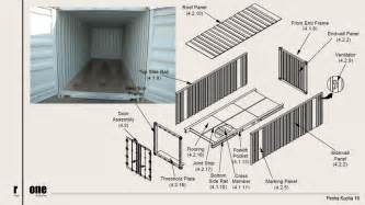 shipping container construction details container house