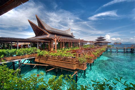 water bungalows in malaysia mabul water bungalows gallery