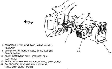 wiring diagram gm headlight switch repair wiring scheme