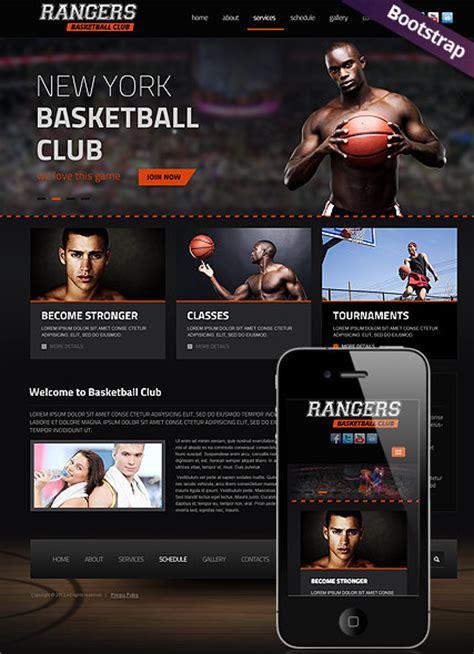 Basketball Html Website Template Best Website Templates Basketball Team Website Template