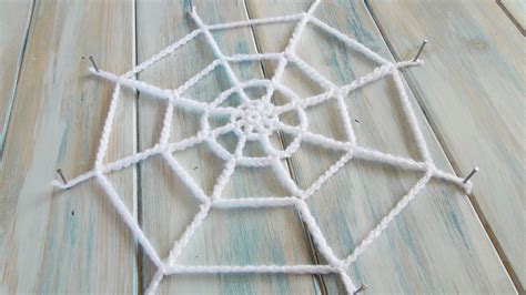 Wool Pattern Webs | crochet how to crochet a spider s web yarn scrap