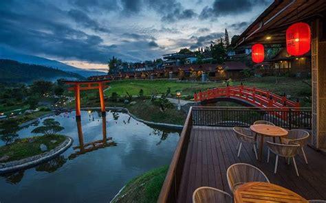 onsen resort songgoriti berendam air panas  resort