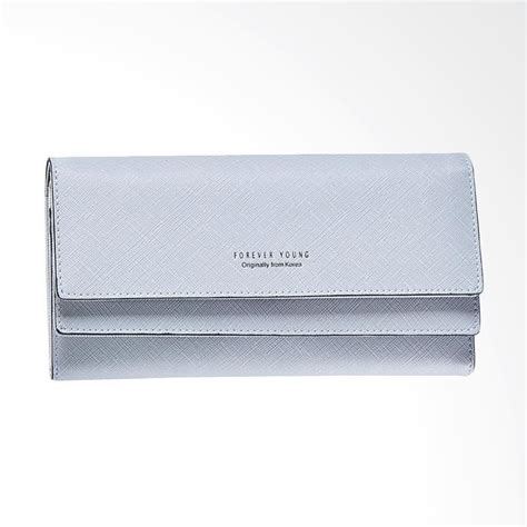 Dompet Forever jual daily deals forever wallet grey