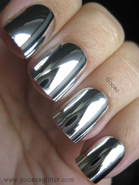 chrome nails get in on the metallic nails trend with these 5 hot styles