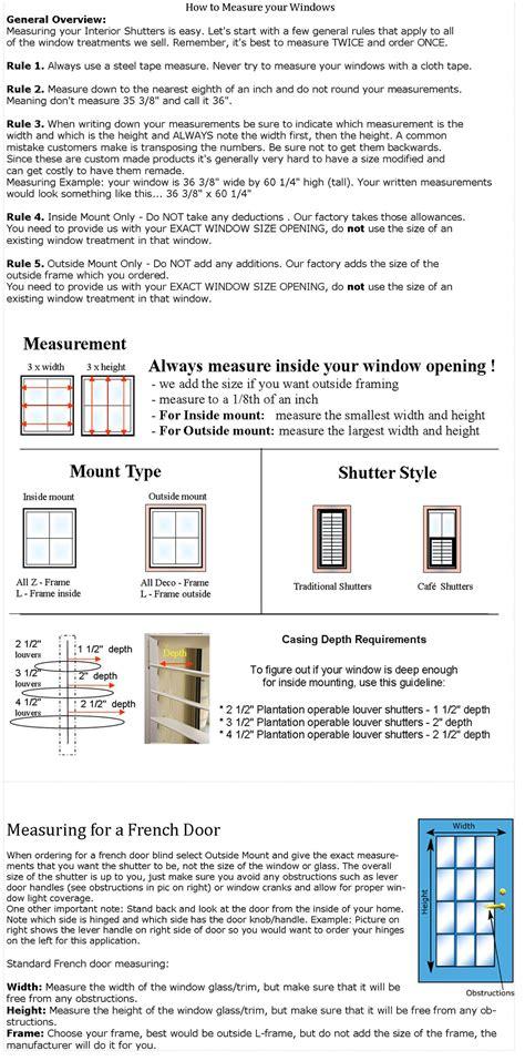 how do you measure a l shade shutter empire orlando custom plantation shutters