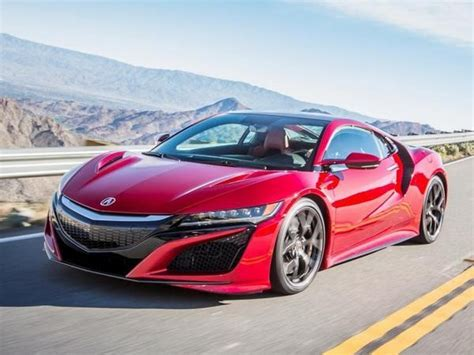 2017 acura nsx review kelley blue book