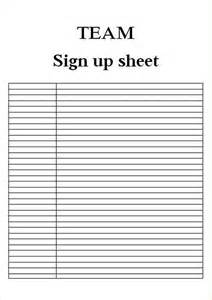 printable sign up sheet template sign up sheets template business investment contract