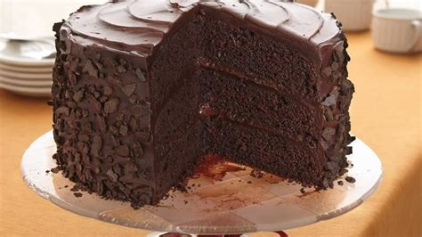 Gold Box Butter Layer Cake 1 all the stops chocolate cake recipe from betty crocker