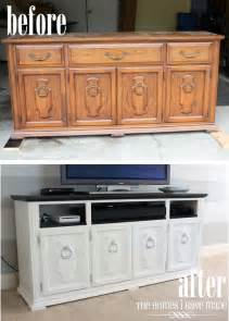 turn an dresser into a tv stand refurbishing home