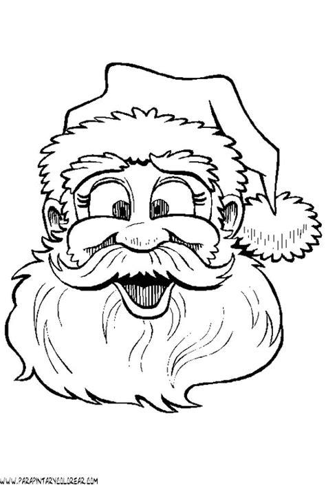 dibujo de cara de pap 225 noel para colorear dibujos net dibujos papa noel para colorear 002