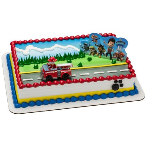 Decoration Ideas For Party At Home by Paw Patrol Cake Topper This Party Started