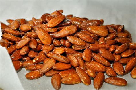 Roasted Nuts grub roasted almonds