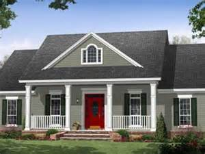 house plans with porches country home plans one story mexzhouse